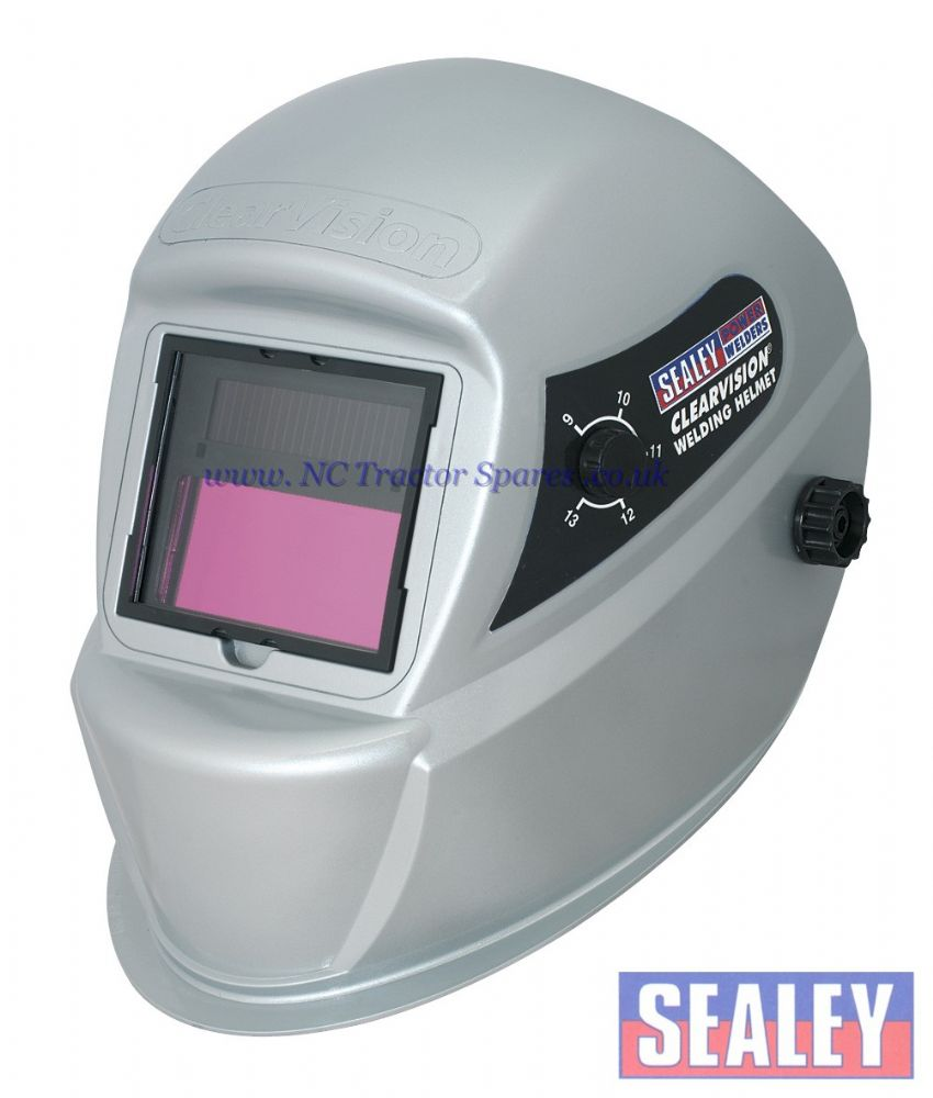 ClearVision Welding Helmet Solar Powered Automatic Shade 9-13